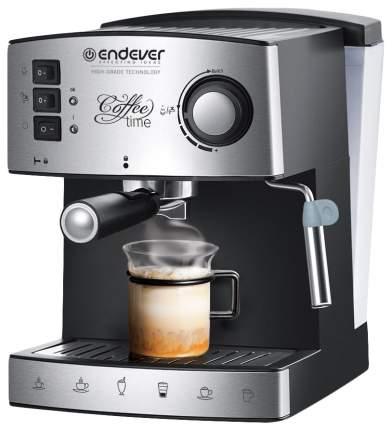 Рожковая кофеварка Endever Costa-1060 Silver/Black