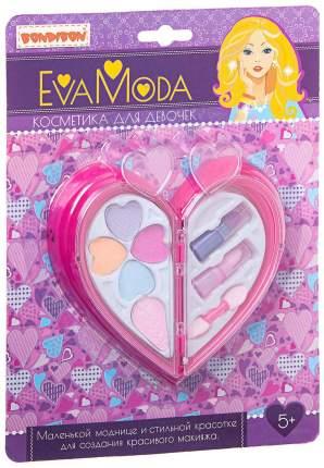 Набор детской декоративной косметики Bondibon Еva Мoda Сердце ВВ1761