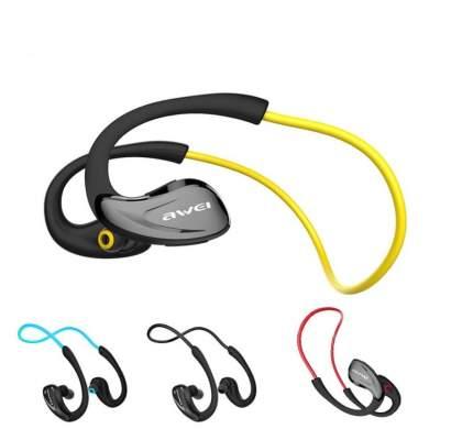 Беспроводные наушники Awei A880BL Yellow
