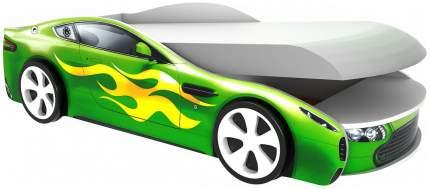 Кровать-машина Бельмарко с подъемным механизмом Бондмобиль Зеленый
