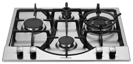 Встраиваемая варочная панель газовая Pyramida PFA 640 Inox Luxe Silver