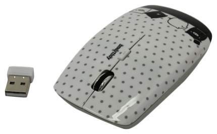 Беспроводная мышка SmartBuy SBM-327AG-P2-FC White/Black