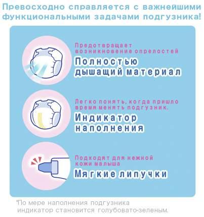 Подгузники для новорожденных MOONY NB (до 5 кг), 26 шт