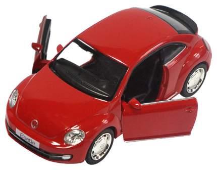 Легковая машина PIT STOP Volkswagen New Beetle 2012 красная 1:32
