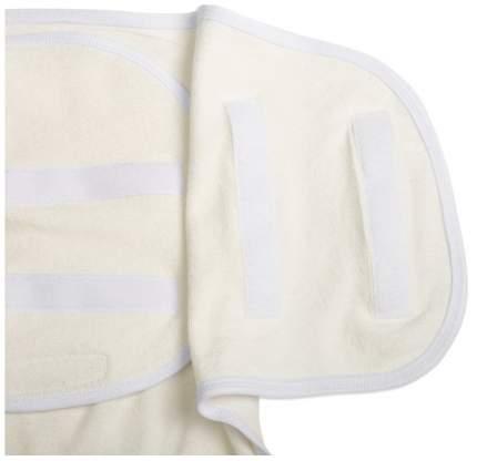 Пеленка-кокон на липучках, рост 50-68 см, цвет белый 1138 Детская линия