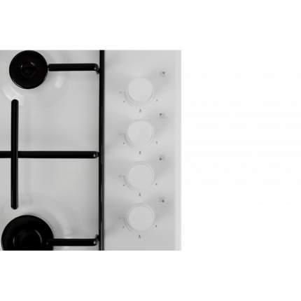 Встраиваемая варочная панель газовая Simfer H60Q40W411 White