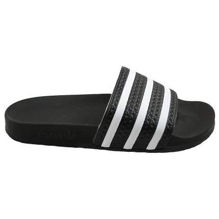 Шлепанцы Adidas Adilette, black/white, 9 US