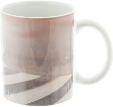 Керамическая кружка 3Dollara Чебурашка на зебре. MUG0074
