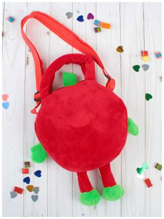 """Детская сумка """"Клубничка"""", красная"""