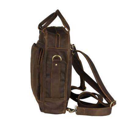 Рюкзак кожаный Bufalo TRN-01 коричневый