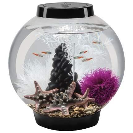 Декорация для аквариума biOrb Pebble, средний орнамент из гальки, черный, 21см