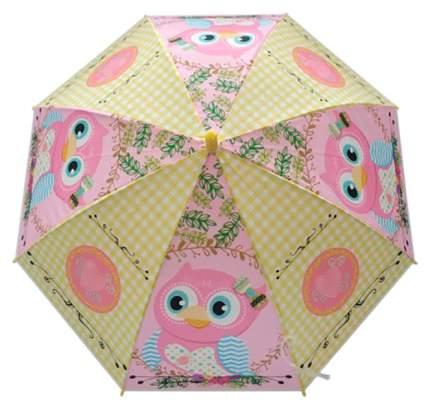 Зонт детский Mary Poppins  сова,  48см, свисток, полуавтомат