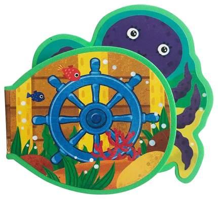Книжка-игрушка Malamalama «Кто живёт на дне моря? Формы.»