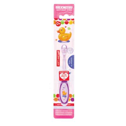 Зубная щетка SILCAMED  Здоровые зубки 0+ мягкая в ассортименте