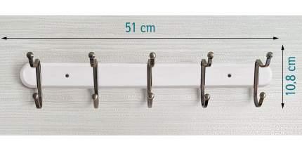 Планка с 5 крючками Tatkraft 10901