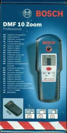Детектор проводки/металла/неоднородностей Bosch DMF 10 Zoom