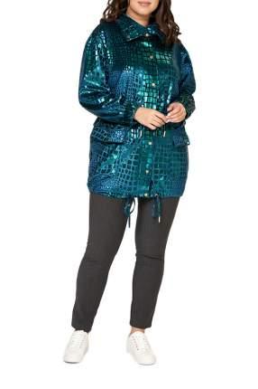 Куртка женская OLSI 1917005_1 зеленая 52 RU