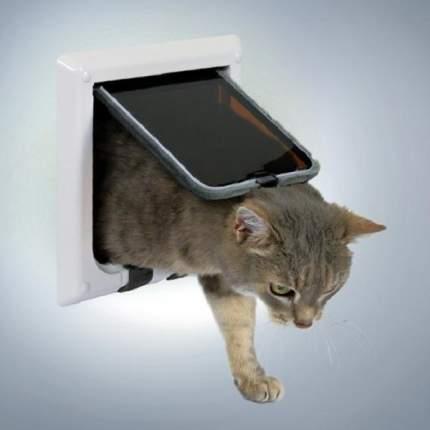 Дверца для кошек Trixie 2-Way Cat Flap, белый