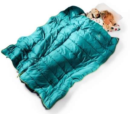 Спальный мешок Deuter Starlight SQ зеленый левый