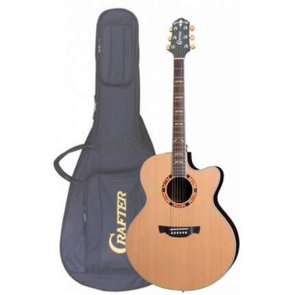 Электроакустическая гитара шестиструнная CRAFTER JE-18 CD/N  Чехол