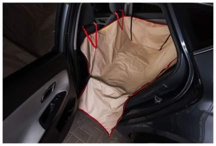Автогамак для собак AvtoTink с боковой защитой 73002/1 Бежевый