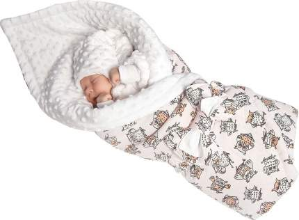 Конверт-одеяло SlingMe Совушки мультиколор