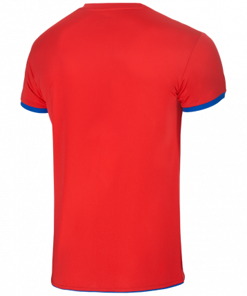 Футболка Jogel JVT-1030-027, красный/синий, S INT