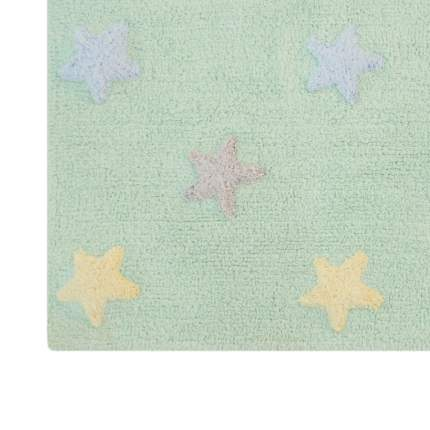 Lorena canals ковер триколор звезды stars tricolor (мятный) 120*160