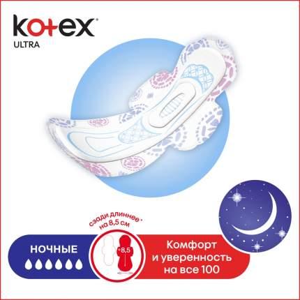 Kotex прокладки ультра сетч найт, 14 шт.