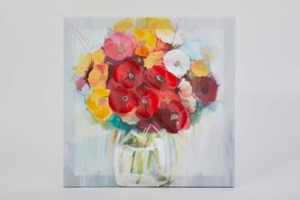 Репродукция 30х30 см Hoff Цветы