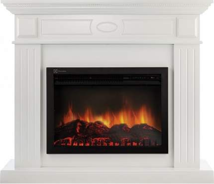 Деревянный портал для камина Electrolux Bianco 25 Белый