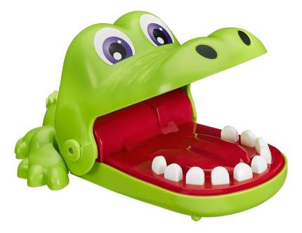 Семейная настольная игра крокодильчик дантист b0408