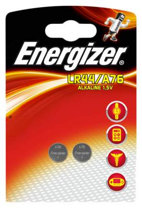 Батарея Energizer Alkaline LR44/A76 1,5V 2 шт