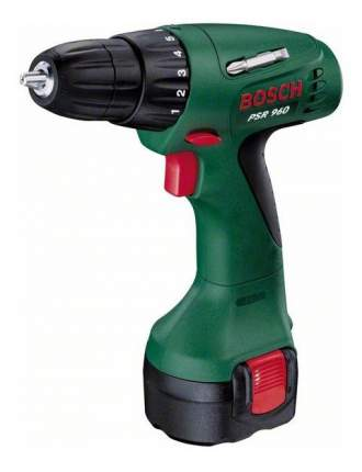 Аккумуляторная дрель-шуруповерт Bosch PSR 960 603944669