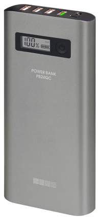 Внешний аккумулятор InterStep PB24QC 3000 мА/ч (IS-AK-PB24QC84U-000B210) Silver