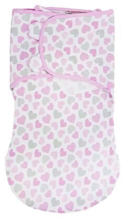 Конверт на липучке с двумя способами фиксации SUMMER INFANT wrap sack®, размер l, сердечки