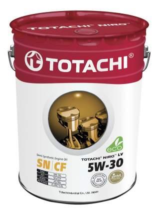Моторное масло Totachi Niro LV Semi-Synthetic SN/CF 5W-30 19,43л