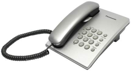 Проводной телефон Panasonic KX-TS2350RUS серебристый