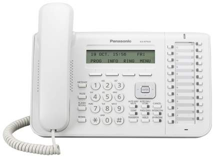 IP Телефон Panasonic KX-NT543RU 2xLAN LCD 24 кнопки