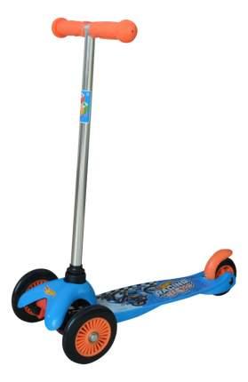 Самокат трехколесный 1 Toy Hot Wheels Т57616 синий, черный