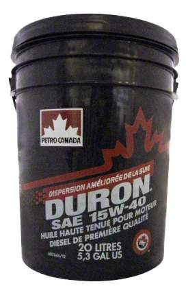 Моторное масло Petro-canada Duron 15W-40 20л
