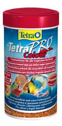 Корм для декоративных рыб Tetra PRO Colour, для улучшения окраса, чипсы, 100 мл