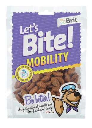 Лакомство для собак Brit Let's Bite Mobility, гранулы, курица, 150г