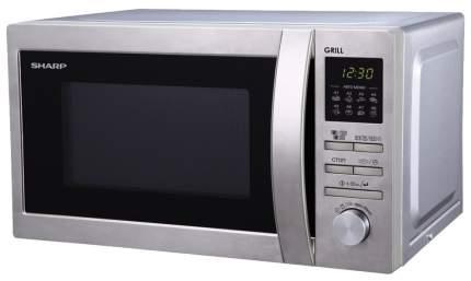 Микроволновая печь с грилем Sharp R-6496ST silver