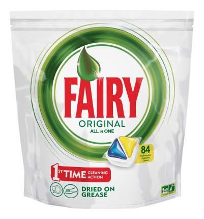Средство для мытья посуды Fairy лимон 84 капсул