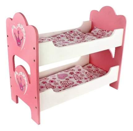 Кроватка двухспальная Корона для кукол Mary Poppins