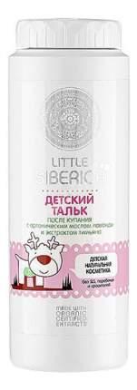 Присыпка детская Тальк Little Siberica 100 Мл, После Купания