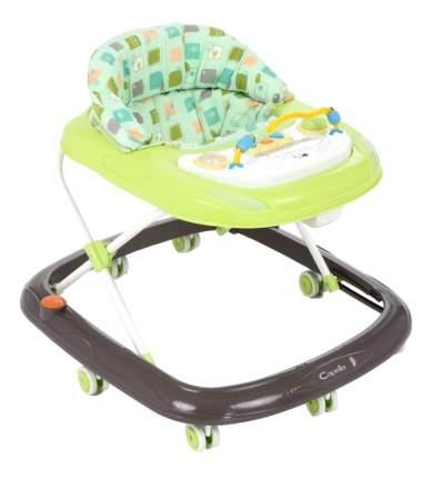 Ходунки детские Capella Bg-0619 зеленый-серый