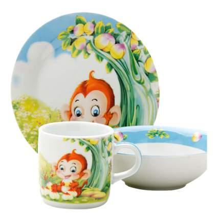 Набор детской посуды Loraine Обезьянка