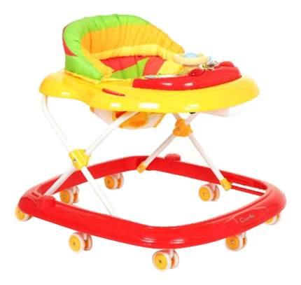Ходунки детские Capella Bg-0611 красный-желтый